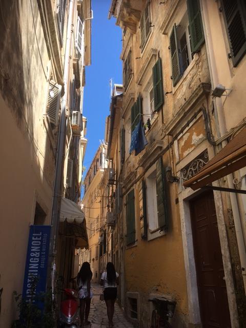corfu architecture